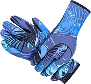 DiNeop Neoprene Wetsuit Gloves Diving Scuba Gloves for Women Men Kids, 3MM Sailing Thermal Gloves Comfortable Protection for Kayaking Paddling Snorkeling Swimming Surfing Spearfishing
