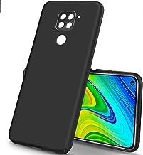 Febelo Case For Mi Redmi Note 9 Matte Finish Exclusive Ultra Slim Soft Back Cover For Redmi Note 9 Matte Black