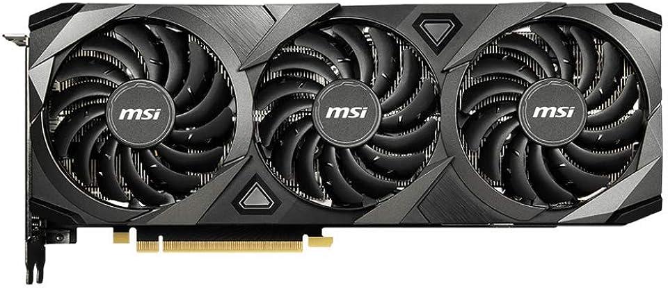 MSI GeForce RTX™ 3080 VENTUS 3X 10G 10GB GDDR6X Ampere Graphics Card - 1755MHz, 8704 Cuda Cores, 320bit, G-Sync, VR Ready, DirectX 12, HDMI 2.1, DisplayPort 1.4a, DLSS
