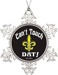 Blake55Albert New Orleans Saints Personalised Christmas Tree Decoration Who Dat Nation Family Tree Decor 553029