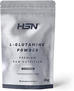 L-Glutamina de HSN   L Glutamine   100% Pura en Polvo   Suplemento Recuperador Post Entrenamiento, Aminoácido Para Deporti...
