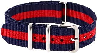 Prettyia Ballistic Durable Nylon Wristwatch Band Strap