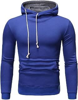 ANJUNIE Men Muscle Hoodies Autumn Hooded Sweatshirt Patchwork Sweater Outwear Coat Jacket Pullovers