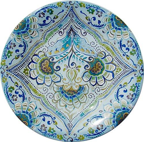 222 Fifth Aisha Porcelain Fine China 9' Salad Plates - Set of 4