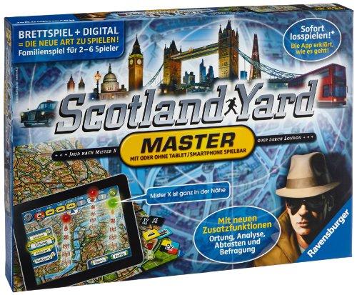 Ravensburger Spiele 26602 - Scotland Yard - Master