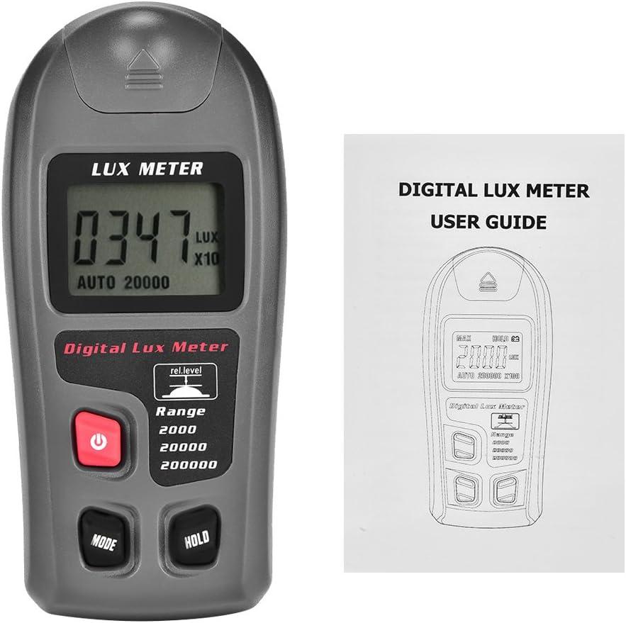 Nunafey Light Meter Sacramento Mall Digital MT-30 Max 68% OFF Illuminance Luxm