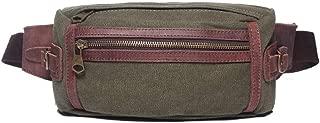 Mens Bag Men's Travel Small Bag Waist Bag Men's Canvas Bag High capacity