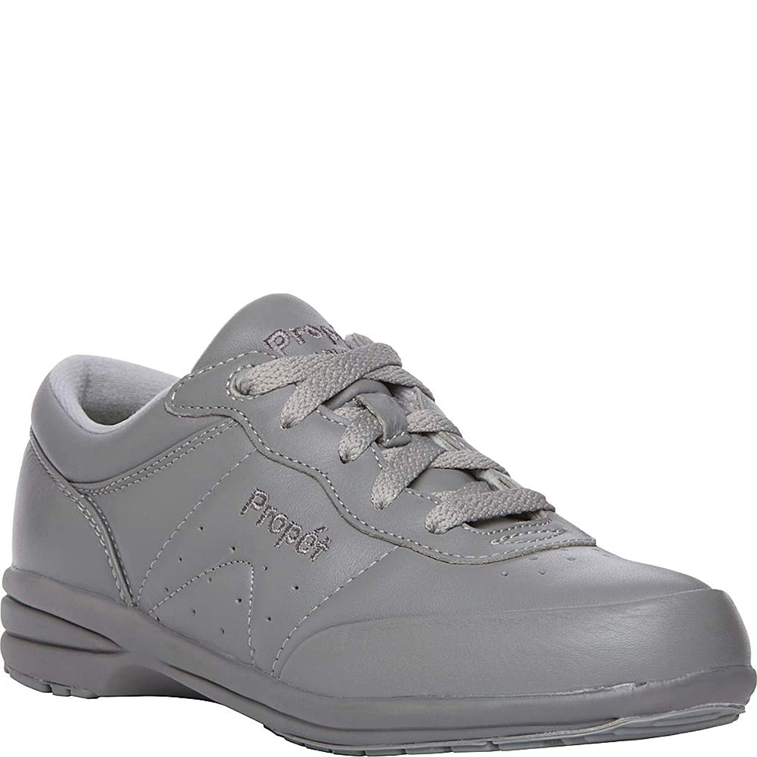 [Propét] Womens Washable Walker Leather Low Top Lace Up Running Sneaker [並行輸入品]