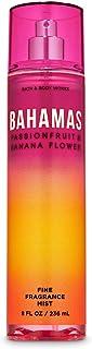 Bath and Body Works BAHAMAS - PASSIONFRUIT & BANANA FLOWER Fine Fragrance Mist 8 Fluid Ounce (2020 Edition)