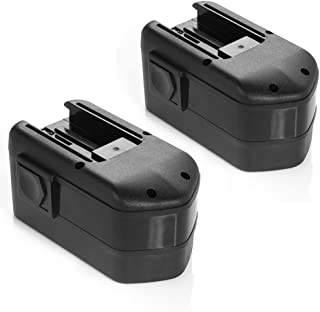 Powerextra 2 Pack Milwaukee 18V 2000mAh Replacement Battery for Milwaukee 48-11-2230 48-11-2200 48-11-2232 0521-20 0521-21 0521-22 0522-20