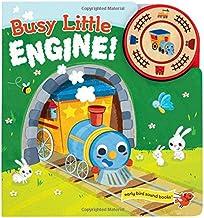 Busy Little Engine: Interactive Children's Sound Book (1 Button Sound) (Early Bird Sound Books)