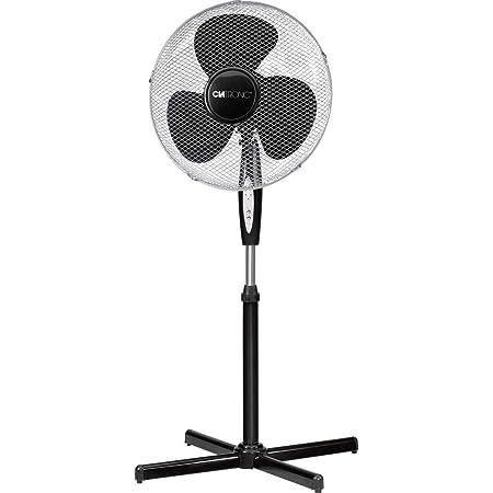 noir 45 W mesko MS 7310 Ventilateur plastique 0 d/écibels 3 vitesses