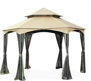 Garden Winds Replacement Canopy for The Southbay Hexagon Gazebo - 350