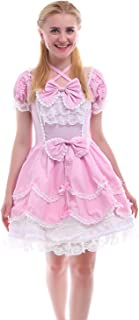 Girls Lolita Gothic Dress Princess Layers Evening Party Blue Dress