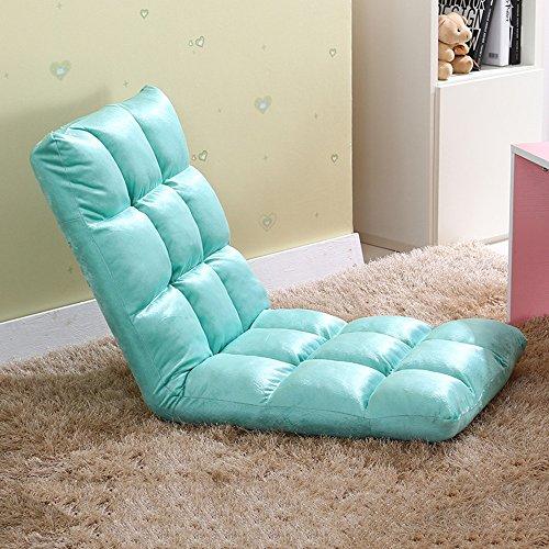 Fauteuils inclinables Feifei Canapé Chaise Paresseux canapé Pliant canapé-lit Chaise Paresseux Chaise Pliant (Couleur : Aquamarine)