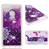 Huawei Honor 7X Phone Case, Lyzwn Cute Glitter Liquid