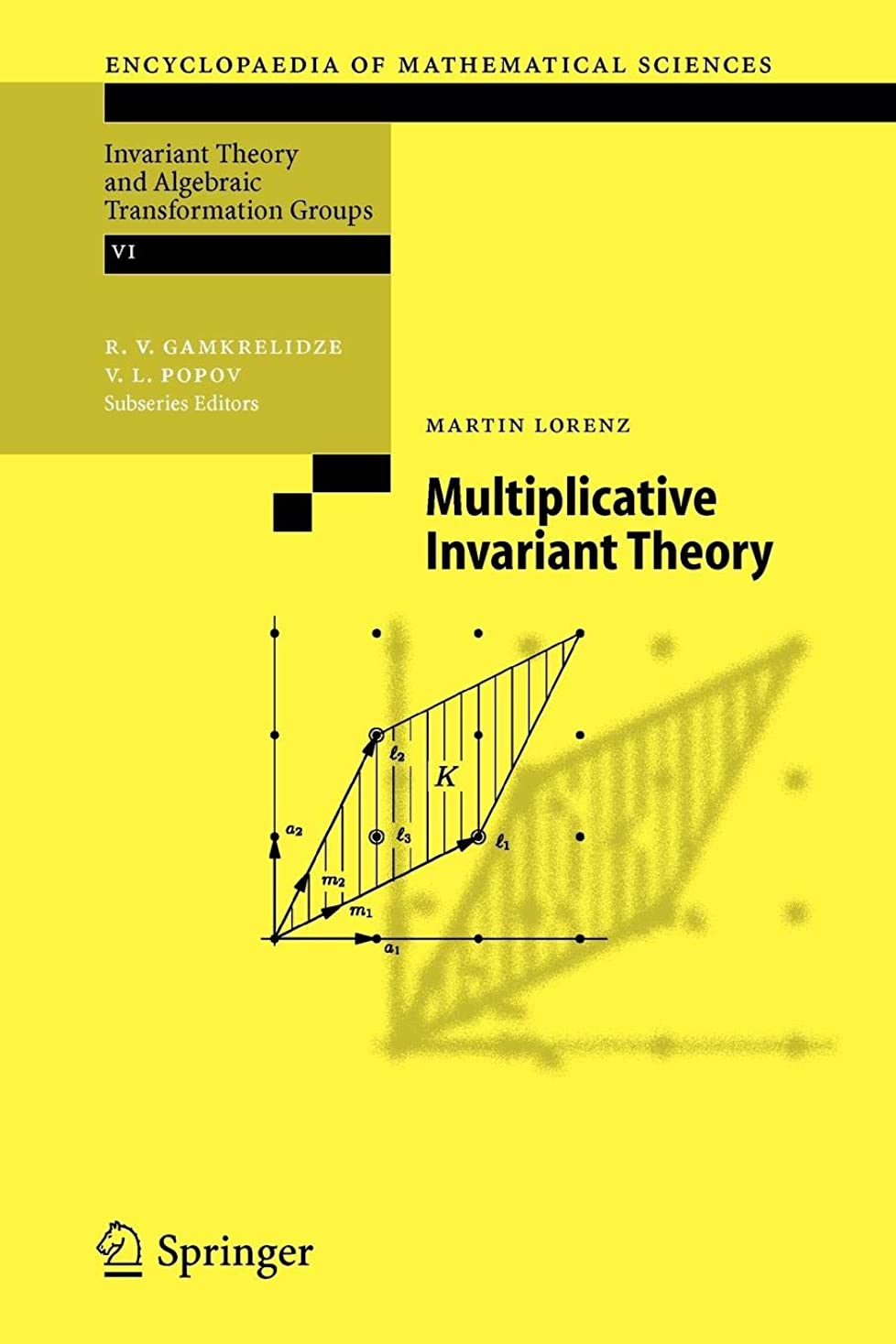 アクセスできない絡まる検索Multiplicative Invariant Theory (Encyclopaedia of Mathematical Sciences)