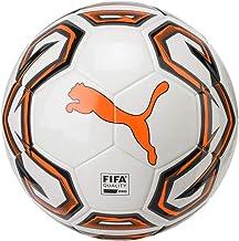 PUMA Futsal 1 FIFA Quality Pro Voetbal, Wit-Shocking Oranje Zwart, 4