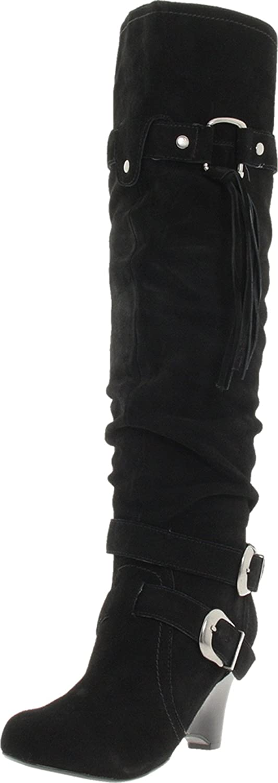 Naughty Monkey Women's Rockin Robin Knee-High Boot