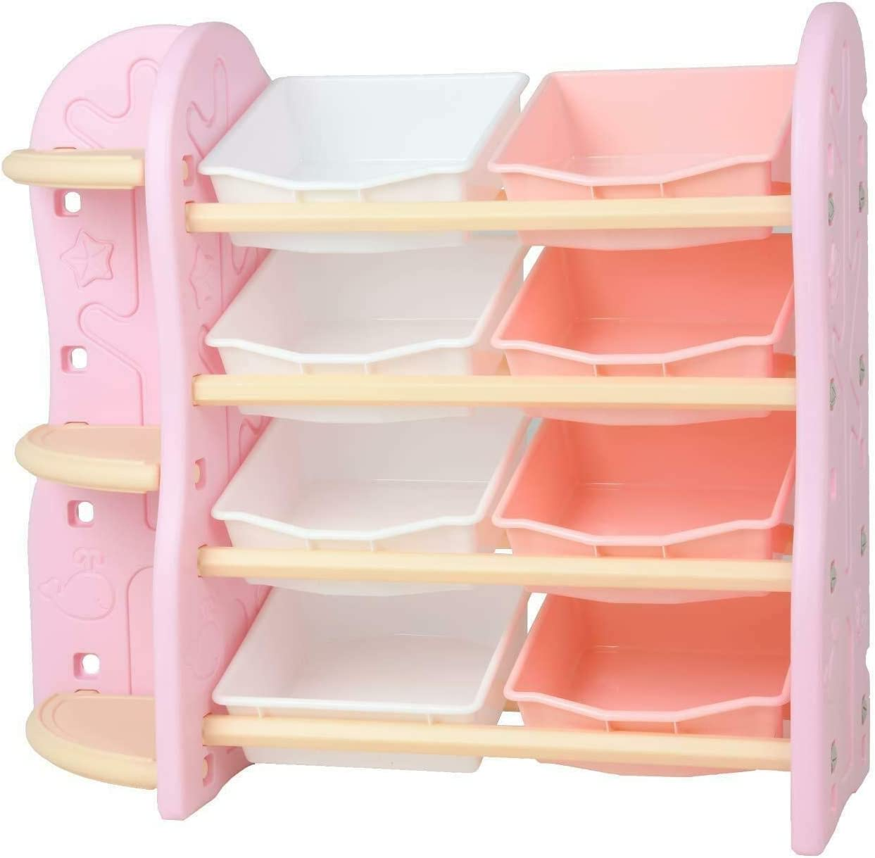 YIE Uenjoy 2 in 1 Toy shop Storage Rack Drawers 8 Max 70% OFF Corner