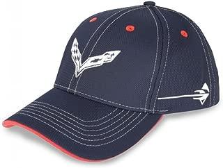 C7 Corvette All-American Hat/Cap : Navy, White, Red