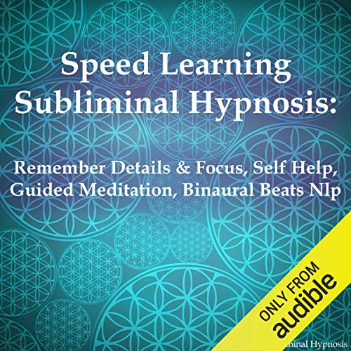 Speed Learning Subliminal Hypnosis audiobook cover art