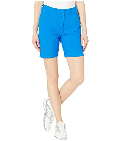 adidas Golf 7 Shorts (Glory Blue) Women
