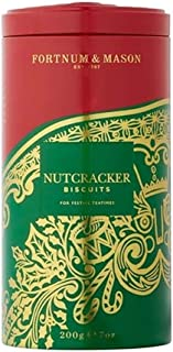 Fortnum and Mason British. Christmas Nutcracker Biscuits, 200g (1 Pack) USA Stock