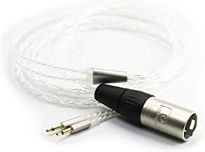 NewFantasia HiFi Cable with 4-pin XLR Balanced Male Compatible with Monolith M1060, M1060C, M565, M565 Headphones Silver Plated Replacement Audio Upgrade Cable