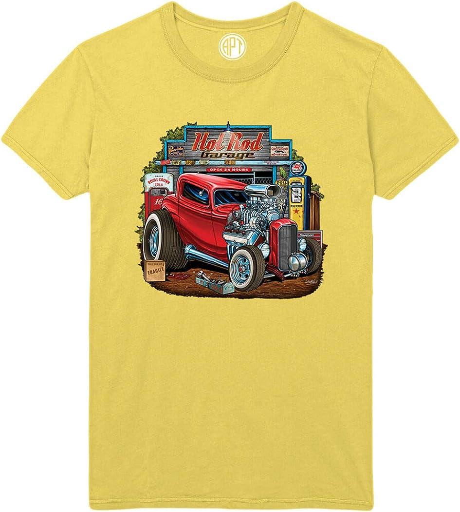 Hot Rod Garage Deuce Coupe Printed T-Shirt