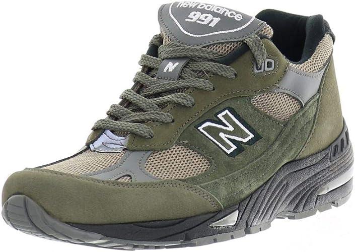 New Balance -991-FDS sneaker, men's khaki (M991) - Camel, size ...