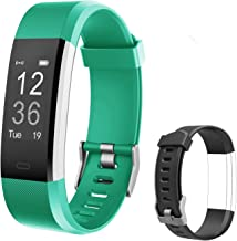 Letsfit Fitness Tracker HR, Activity Tracker Watch with Heart Rate Monitor, IP67 Water Resistant Smart Bracelet with Calorie Counter Pedometer Watch for Android and iOS