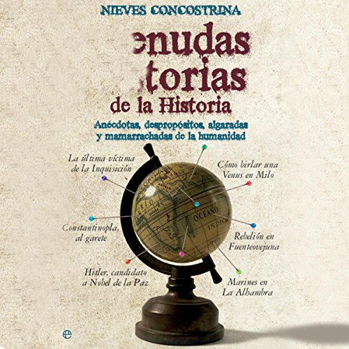Menudas historias de la historia [Wicked History Stories] cover art