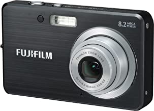 Fujifilm Finepix J10 8.2MP Digital Camera with 3x Optical Zoom (Matte Black)