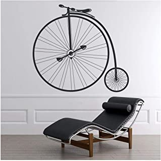 Penny Farthing Wall Sticker Bike Wall Decal Art available in 5 Sizes and 25 colors Medium Moss Green