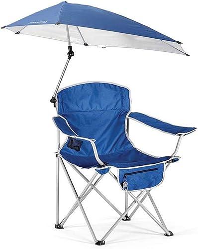 MUTANG Plein air Loisirs Pliant Parasol Chaise Portable Pêche Plage Chaise Camping Chaise Jouer Chaise Chaise Parapluie Chaise