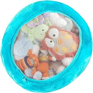 Boon Animal Bag Stuffed Animal Soft Toy Storage  Blue