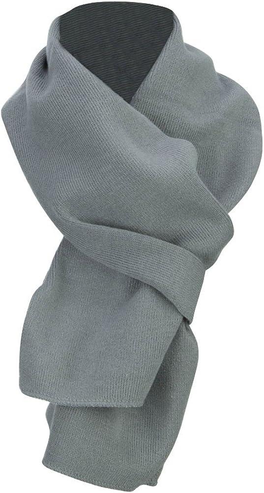 Acrylic Knit Classic Scarf