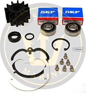 Poseidon Marine Raw Water Pump Repair kit for Volvo Penta OMC Pumps 3857794 3858847 3862281