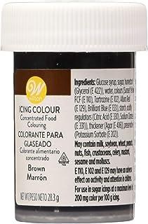 Wilton Colorante Alimenticio para Glaseado en Pasta, 28.3g, Color Marrón,  04-0-0044