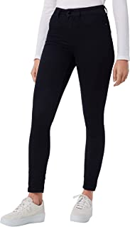 Jacqueline de Yong NOS Women's Jdynikki Jegging High Black Dnm Noos Skinny Jeans