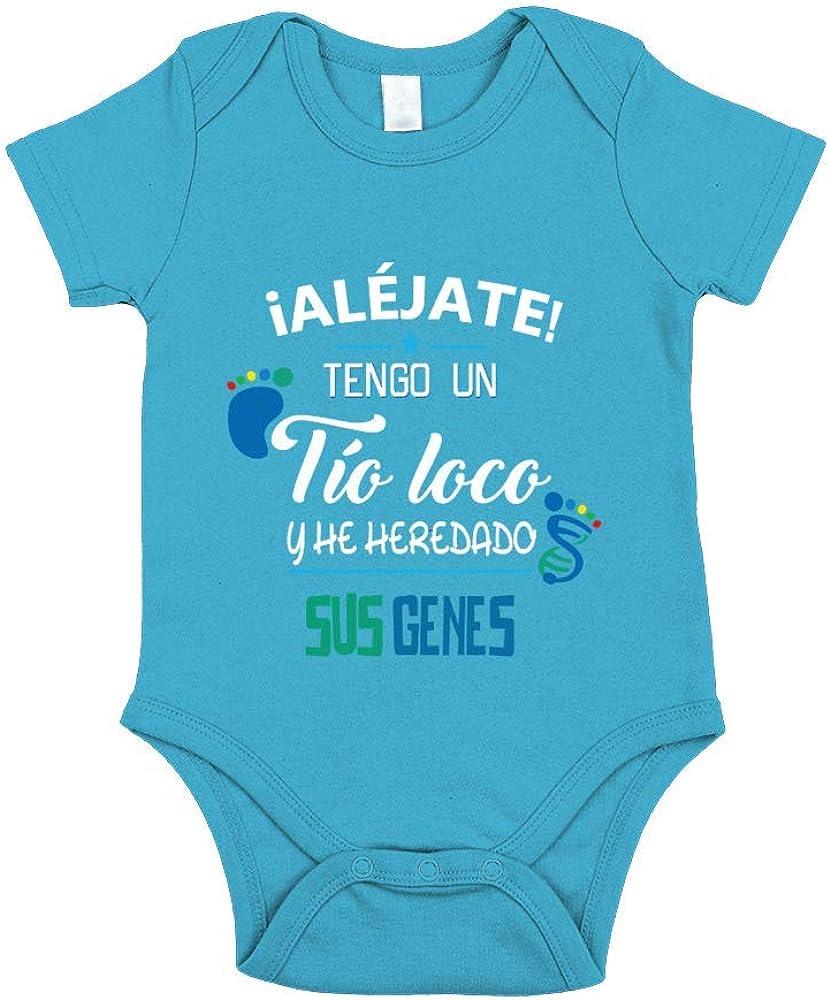 TEEZILY Body Beb/é /¡Al/éjate Tengo un tio Loco y he heredado Sus Genes