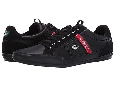 Lacoste Chaymon 120 7 U (Black/Red) Men
