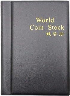 YRCHENGLI 120 Pockets Coin Storage Album Money Book Penny Book Folder Coin Collection Book
