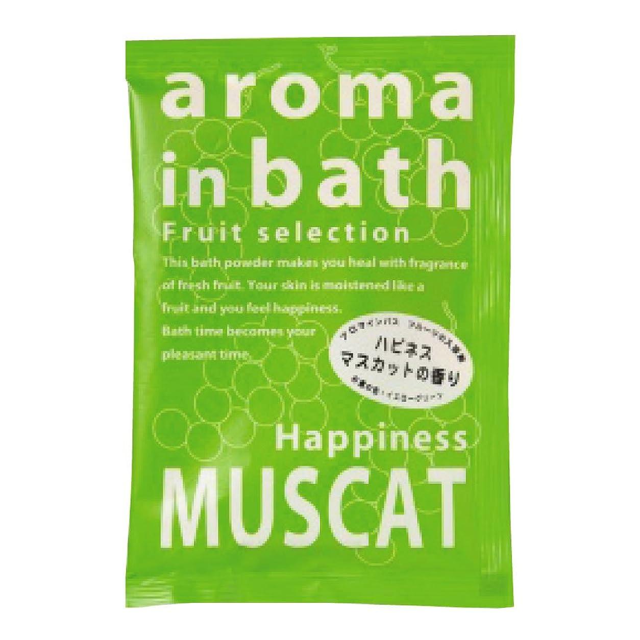 ねばねば保持するどれか入浴剤 アロマインバス(マスカットの香り)25g
