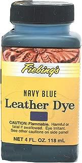 Fiebings Navy Blue Leather Dye, Alcohol Based Dye