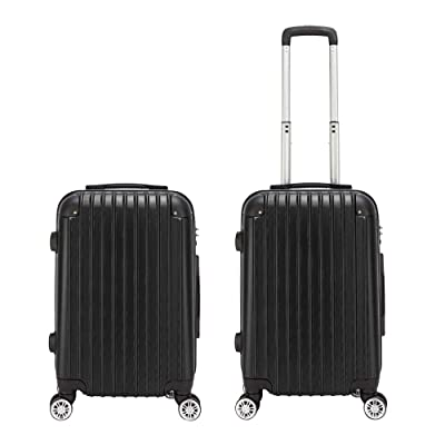 Lovinland Portable ABS Travel Case 20'' Trolley...