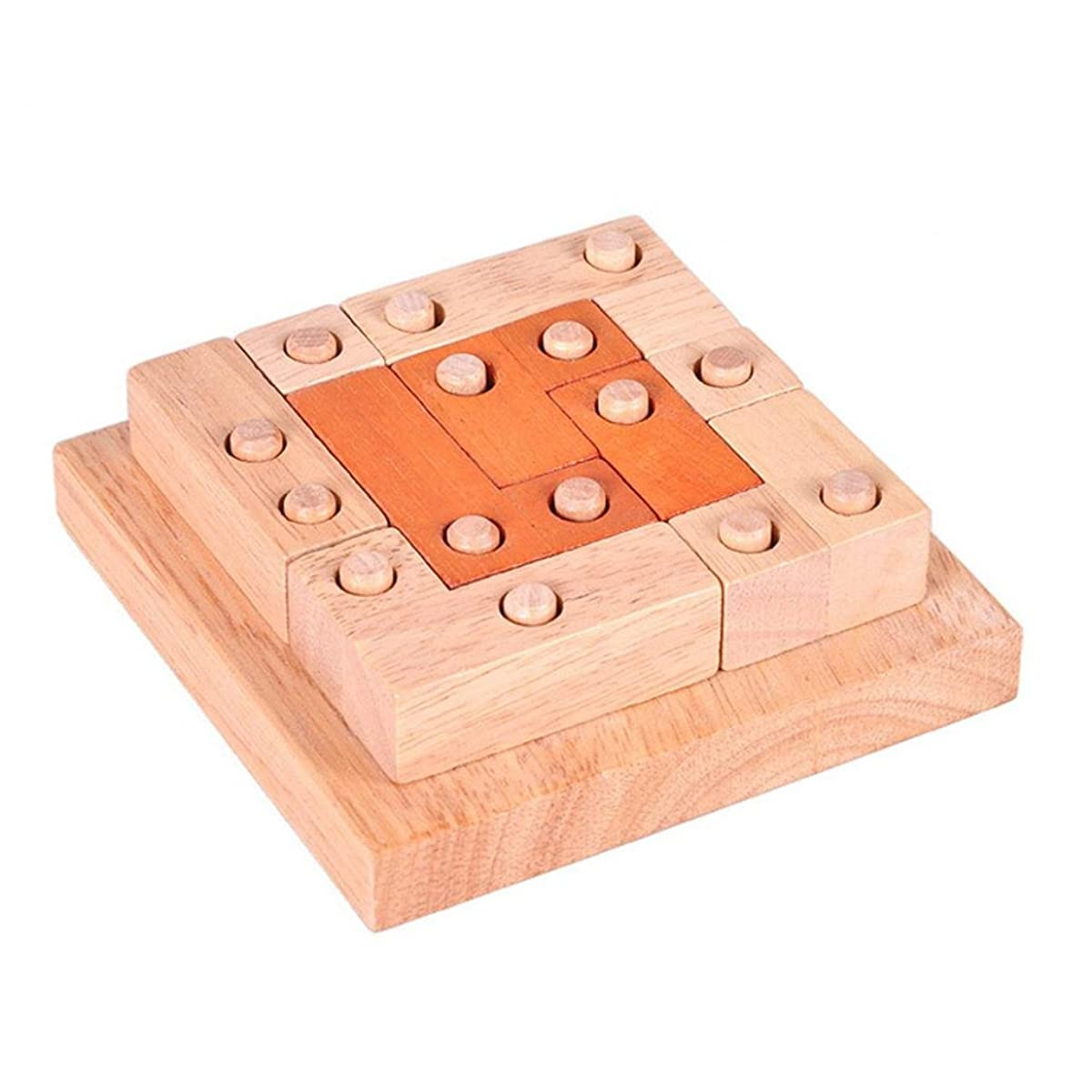 hwangli Wooden Building Blocks Kong Ming Luban Lock Adults Kids Puzzle Educational Toys