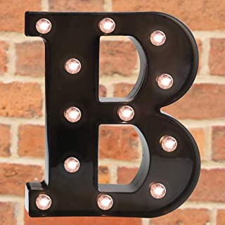Pooqla Light Up LED Letter Marquee Sign - Alphabet Marquee Letters with Lights for Wedding Birthday Party Christmas Night ...