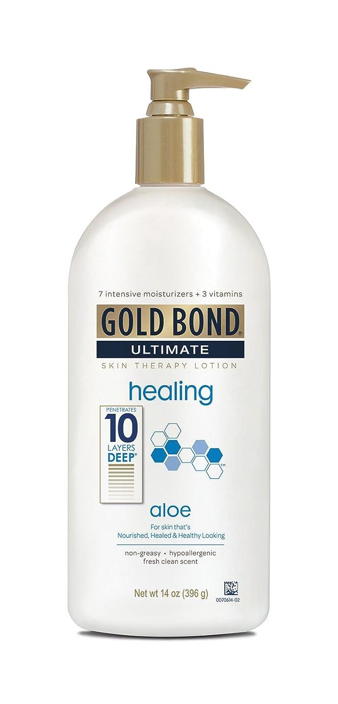 ハイランドありふれた平等Gold Bond Ultimate Healing Lotion 415 ml (並行輸入品)